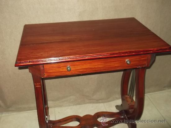 Antigüedades: mesa pata de lira - Foto 2 - 34895527