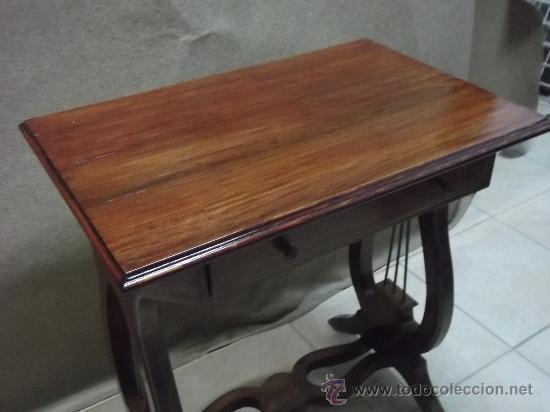 Antigüedades: mesa pata de lira - Foto 3 - 34895527