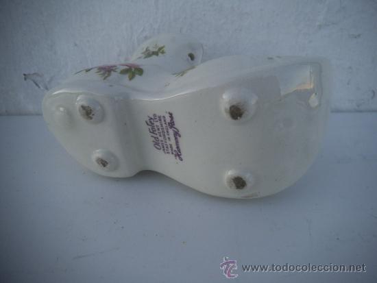 Antigüedades: figura de zapato ceramica - Foto 2 - 34897653