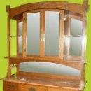 Antigüedades: APARADOR ÉPOCA MODERNISTA INDUSTRIAL. AÑO 1900. Lote 34911589