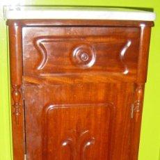 Antigüedades: MESILLA DE NOCHE, ESTILO ISABELINO CATALÁN (DITADA) SIGLO XIX. Lote 34911744