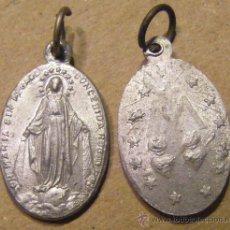 Antigüedades: MEDALLA RELIGIOSA, MIDE 1,8 X 1,2 CM. Lote 34920946