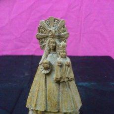 Antigüedades: FIGURA VIRGEN NTRA. SRA. DE LOS PUEYOS ALCAÑIZ (TERUEL). Lote 34926064