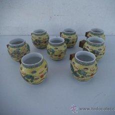 Antigüedades: 8 CAZOS ORIENTALES. Lote 36698052