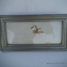 Antigüedades: PORTA FOTOS ESTAÑO. Lote 34943654