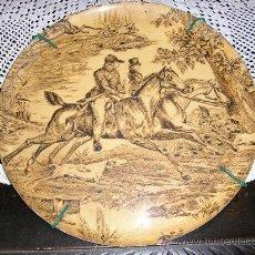 Antigüedades - ANTIGUA BANDEJA DECORADA - 34951000