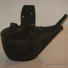 Antigüedades: ANTIGUA LÁMPARA DE ACEITE. Lote 34952042