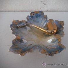 Antigüedades: CENICERO CERAMICA FIGURA PIPA. Lote 34977843