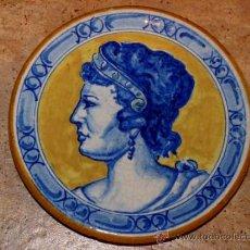 Antigüedades: ANTIGUO PLATO DE CERÁMICA.TRIANA.MENSAQUE RODRIGUEZ I CIA S.A. SEVILLA. Lote 34986210