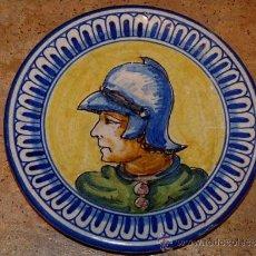 Antigüedades: ANTIGUO PLATO DE CERÁMICA.TRIANA.MENSAQUE RODRIGUEZ I CIA S.A. SEVILLA. Lote 34986233