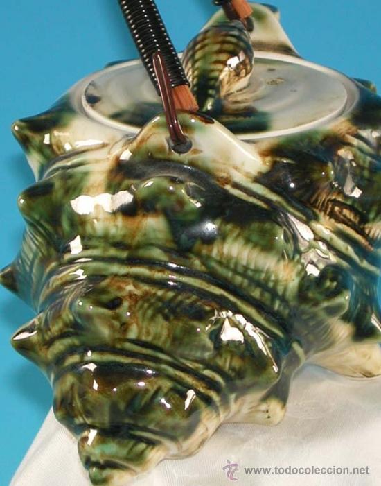 Antigüedades: Tetera de porcelana con forma de caracola. Francia 1950 - Foto 4 - 34997769