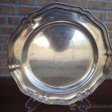 Antigüedades: PLATO DE ALPACAR. Lote 171006884