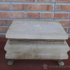 Antigüedades - caja de alabastro - 35002485