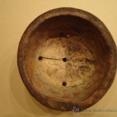 Antigüedades: QUESERA MADERA ANTIGUA ARTE PASTORIL. Lote 35014191