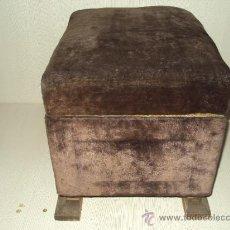 Antigüedades: PUFF ABATIBLE ART-DECO. Lote 35014195
