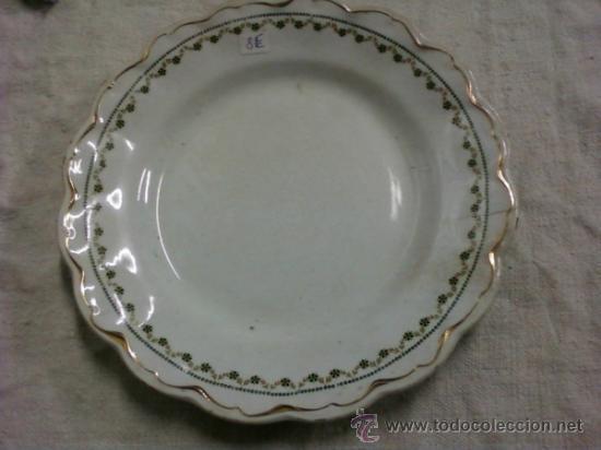 PLATO S M Y C . SEVILLA (Antigüedades - Porcelanas y Cerámicas - Otras)
