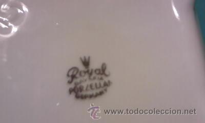Antigüedades: Preciosa caja de porcelana ROYAL BAVARIA GERMANY. Con filos de oro. - Foto 5 - 35050066