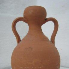 Antigüedades: ALFARERÍA ESPAÑOLA . CÁNTARO BARRO DOS ASAS. Lote 35059382