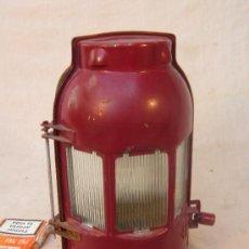 Antigüedades: FARO / LAMPARA DE FERROCARRIL. Lote 35060157