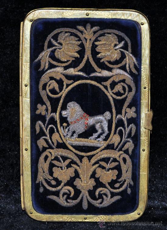 CARNET DE BAILE O TARJETERO DEL SIGLO XIX CON EXTRAORDINARIAS FILIGRANAS EN PLATA (Antigüedades - Moda y Complementos - Mujer)