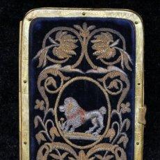 Antigüedades: CARNET DE BAILE O TARJETERO DEL SIGLO XIX CON EXTRAORDINARIAS FILIGRANAS EN PLATA. Lote 35176265