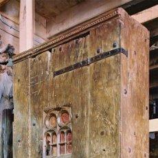 Antigüedades: ALACENA DE NOGAL . MEDIDAS 2,35X1,07X0,43.. Lote 35124945