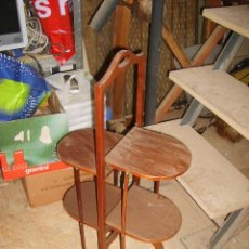 Antigüedades - Mesa auxiliar plegable de caoba - 35130173