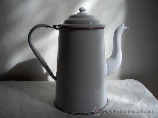 Cafetera jarra porcelana esmaltada comprar utensilios for Utensilios del hogar
