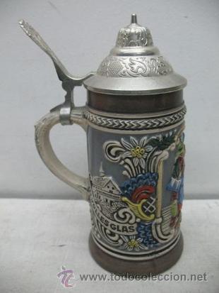 PRECIOSA JARRA DE CERÁMICA DES GASTES SPAB (Antigüedades - Porcelanas y Cerámicas - Otras)