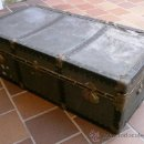 Antigüedades: BAÚL DE VIAJE ANTIGUO, PARA RESTAURAR. Lote 103399978