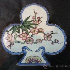 Antigüedades: CAJA CHINA DE ESMALTE. Lote 35174290