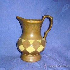 Antigüedades: JARRA DE REFLEJO EN CERAMICA VALENCIANA DE MANISES. MED. 17X21 CM.. Lote 35177144