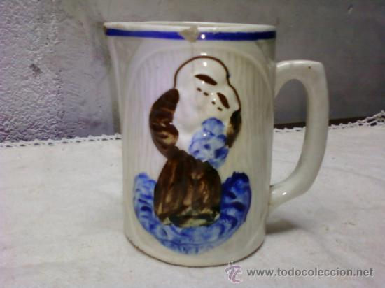 JARRA SAN ANTONIO . MANISES (Antigüedades - Porcelanas y Cerámicas - Manises)