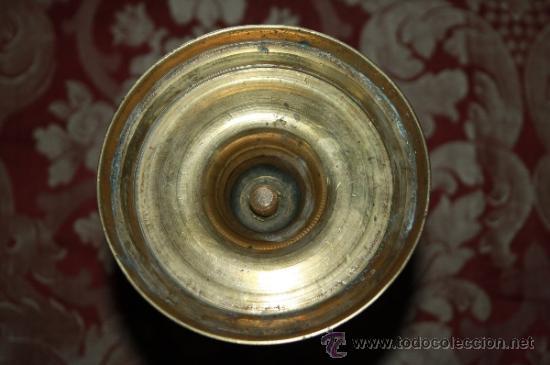Antigüedades: BONITO CANDELABRO EN BRONCE DE PRINCIPIOS DEL S.XIX - Foto 6 - 35169311