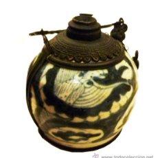 Antiquités: INTERESANTE PIPA DE OPIO REALIZADA EN VIETNAM. Lote 35184035