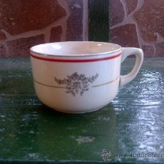 Antigüedades: ANTIGUA TAZA DE CAFE, SELLADA SAN CLAUDIO, OVIEDO.. Lote 35184900