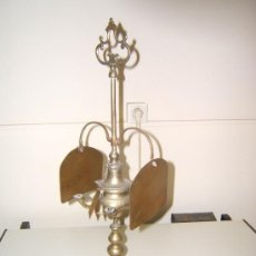 Antigüedades: LAMPARA O VELON ACEITE. Lote 35189479