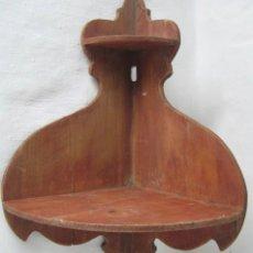 Antigüedades: 46 CM ANTIGUA ORIGINAL REPISA RINCONERA. Lote 35198174