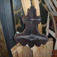Antigüedades: RINCONERA DE MADERA . Lote 35199961