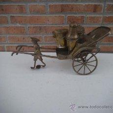 Antigüedades: FIGURA ORIENTAL EN ALPACAR DE SALEROS. Lote 35210126