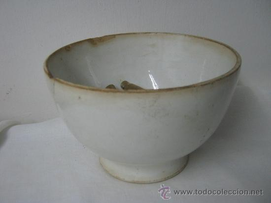 ANTIGUO TAZON SAN CLAUDIO OVIEDO (Antigüedades - Porcelanas y Cerámicas - San Claudio)