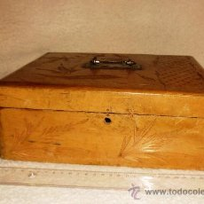 Antigüedades: CAJA DE MADERA. Lote 35249314