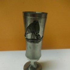 Antigüedades - Copa de metal - 35307235