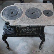 Antigüedades: COCINA DE CARBÓN. Lote 35342612