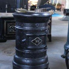 Antigüedades: ESTUFA DE HIERRO. Lote 35343255