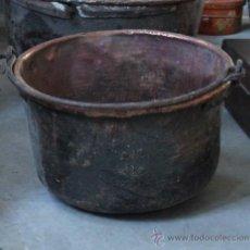 Antigüedades: CALDERO DE COBRE. Lote 35343379
