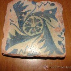 Antigüedades: ANTIQUISIMO AZULEJO VALENCIANO ( GOTICO ). Lote 35344695