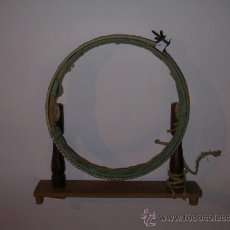 Antigüedades: BASTIDOR DE BORDAR ANTIGUO- 20 CM DE DIAMETRO. Lote 35351314