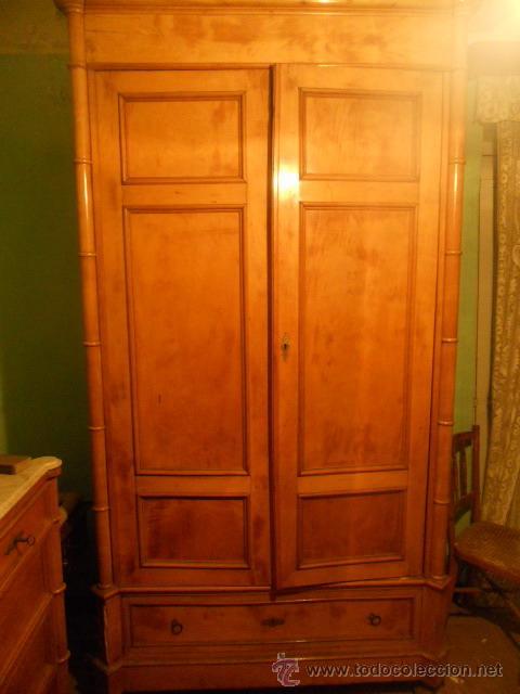 armario ropero de limoncill con cajon año 1945 - Comprar Armarios ...
