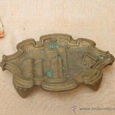 Antigüedades: JABONERA EN BRONCE. Lote 35367607